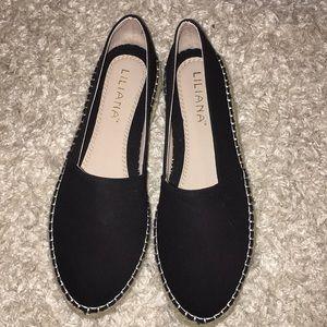 Liliana Black Flat shoes